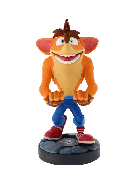 Crash Bandicoot: It's About Time Variant 8 inch Cable Guy Phone and Controller Holder
