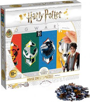 Harry Potter: House Crests 500pc Puzzle