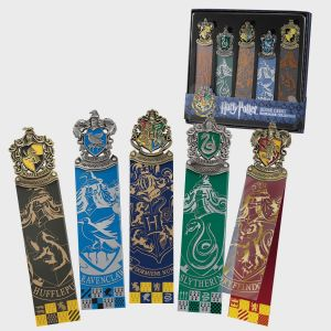 Harry Potter: Crest Bookmark Set Preorder
