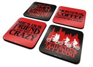 Stranger Things: Phrases Coaster Set
