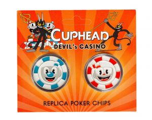Cuphead: Devil's Casino Replica Poker Chips