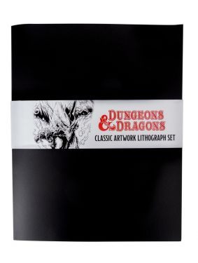 Dungeons & Dragons: Limited Edition Lithograph Set