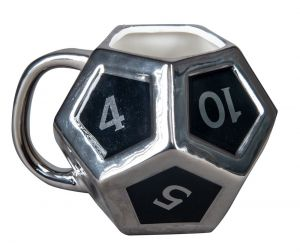 Dungeons and Dragons: The Lesser Important D12 3D Mug