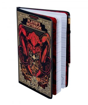 Dungeons and Dragons: Words Are The Mightiest Weapon Notebook and Pencil