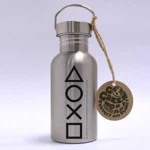 PlayStation: Buttons Stainless Steel Eco Bottle