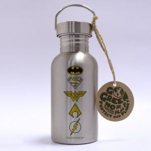 DC Comics: Logos Stainless Steel Eco Bottle