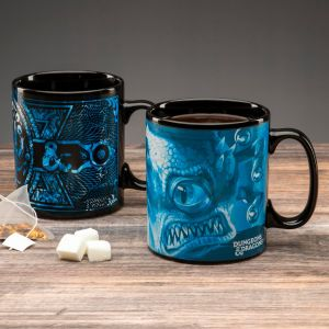 Dungeons and Dragons: +1 Fire Magic Heat Change Mug
