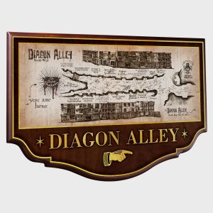 Harry Potter: Diagon Alley Wall Plaque Preorder