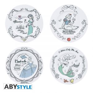 Disney: Fit For Royalty Princess Plate Set