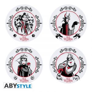 Disney: Vile Villains Plate Set Preorder