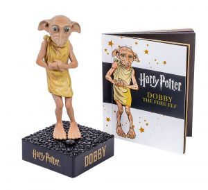 Harry Potter: Miniature Talking Dobby and Collectible Book