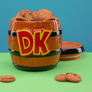 Donkey Kong: Barrels Of Fun Cookie Jar