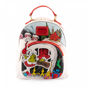 The Grinch: Chimney Thief Loungefly Mini Backpack Preorder
