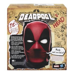 Marvel Legends: Deadpool's Head Premium Interactive Head