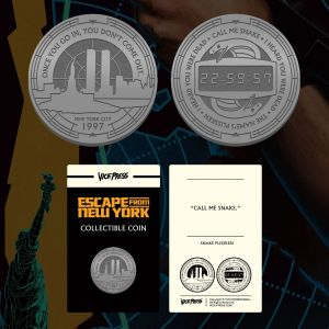 Escape From New York Collector Coin Preorder