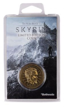 The Elder Scrolls: Skyrim Limited Edition Coin