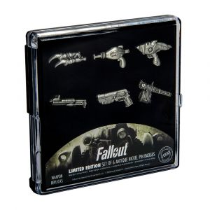 Fallout: Weapon Limited Edition Pin Badge Set