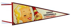 Fallout: Sunset Sarsaparilla Pennant Flag
