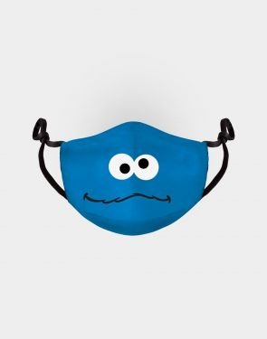 Sesame Street: Cookie Monster Adjustable Face Mask