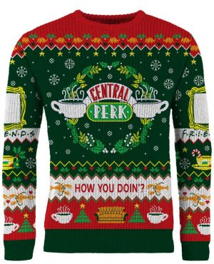 Friends: Central Perk Holiday Special Knitted Christmas Sweater