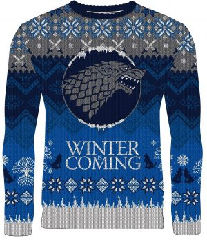 Game Of Thrones: Winter Is Coming Stark Knitted Christmas Sweater