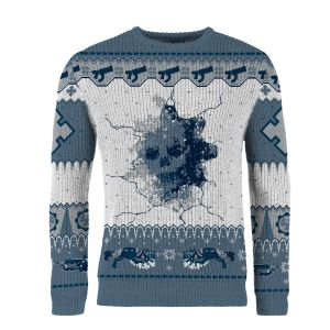 Gears of War: ...And A Happy New Gear! Knitted Christmas Sweater (includes Gears 5 Lancer DLC Code)