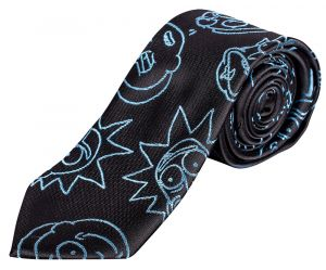 Rick and Morty: Faces Necktie
