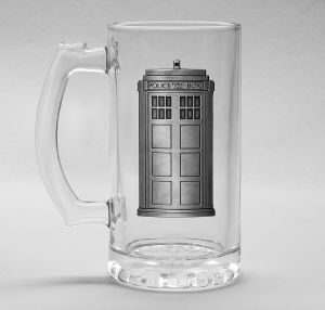 Doctor Who: Tardis Stein Glass