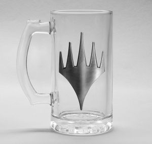 Magic The Gathering: Planeswalker Stein Glass