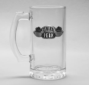 Friends: Central Perk Stein Glass