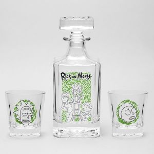 Rick and Morty: Decanter Set Preorder