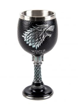 Game of Thrones: Heart of a Direwolf Goblet