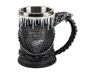 Game of Thrones: Pour A Frosty One House Stark Tankard