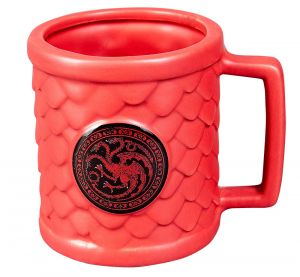 Game Of Thrones: Scale Of Things Targaryen Shaped Mug