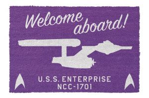 Star Trek: Welcome Aboard Doormat