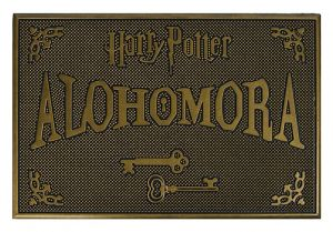 Harry Potter: Alohomora Rubber Doormat Preorder