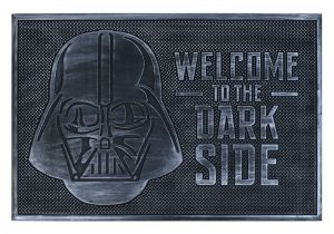 Star Wars: Welcome To The Dark Side Rubber Doormat