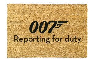 James Bond: 007 Reporting For Duty Doormat