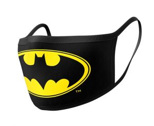 Batman: Logo Face Mask (Pack of 2)
