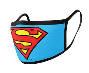 Superman: Logo Face Mask (Pack of 2)