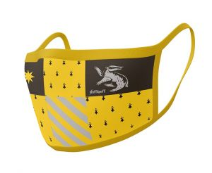Harry Potter: Hufflepuff Face Mask (Pack of 2)