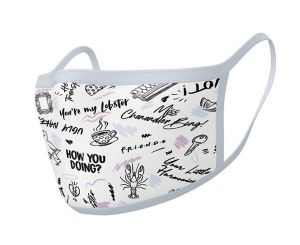 Friends: Phrases Face Mask (Pack of 2)