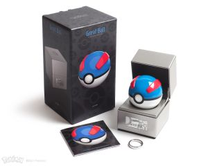 Pokémon: Electronic Die-Cast Great Ball Replica