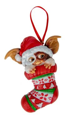 Gremlins: Gizmo In Stocking Hanging Ornament Preorder