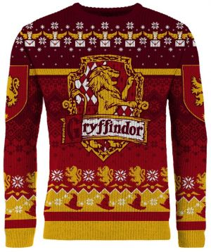 Harry Potter: Ten Gifts To Gryffindor Knitted Christmas Jumper