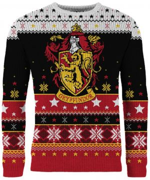 Harry Potter: Gryffindor Knitted Christmas Jumper
