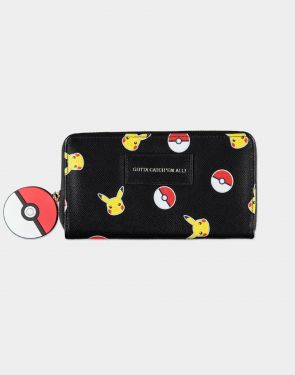 Pokemon: Pokeball Zip Around Purse Preorder
