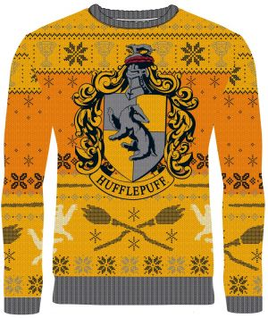 Harry Potter: Ho Ho Hufflepuff Knitted Christmas Sweater
