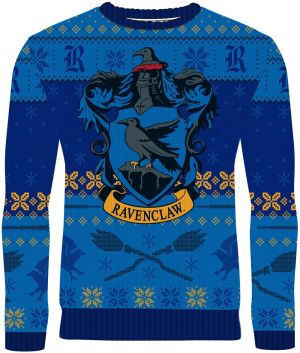 Harry Potter: Rockin' Ravenclaw Knitted Christmas Jumper
