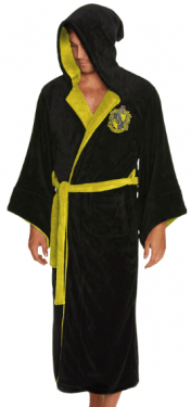Harry Potter: Hufflepuff Wizarding Bathrobe